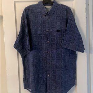Vintage Quiksilver Short Sleeve Button Down Sz XL
